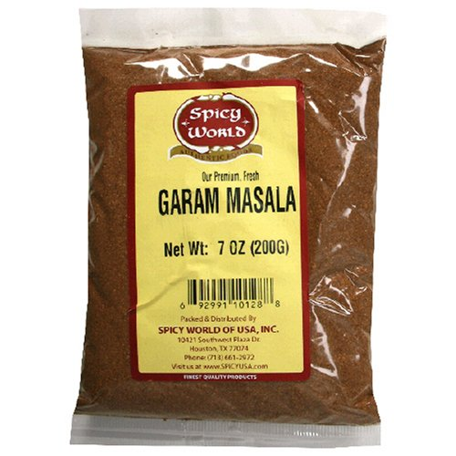 Spicy World Garam Masala, 7-Ounce Bags (Pack of 6) by Spicy World