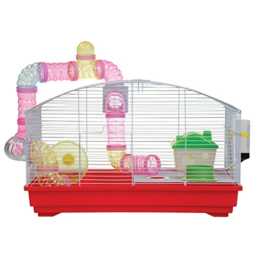 Animal Treasures Deluxe Hamster Kit - Red