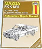 Haynes Mazda B-Series Pick-Ups Owners Workshop Manual, No. 267, J. H. Haynes and P. Ward, 1850106746