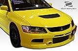 body kit mitsubishi lancer - Duraflex ED-UEY-989 MR Edition Front Bumper Cover - 1 Piece Body Kit - Fits Mitsubishi Evolution 2003-2006