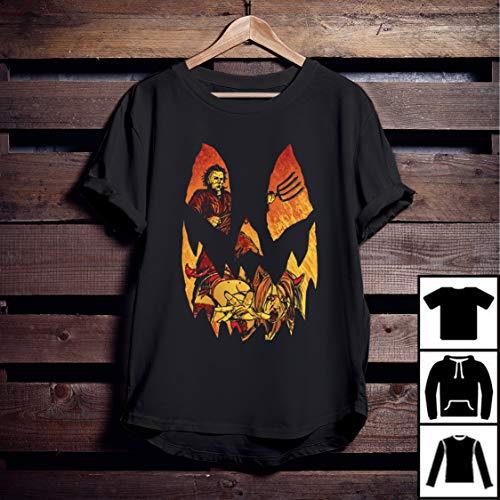 Halloween Michael Myers Jack-O-Lantern T-Shirt ()