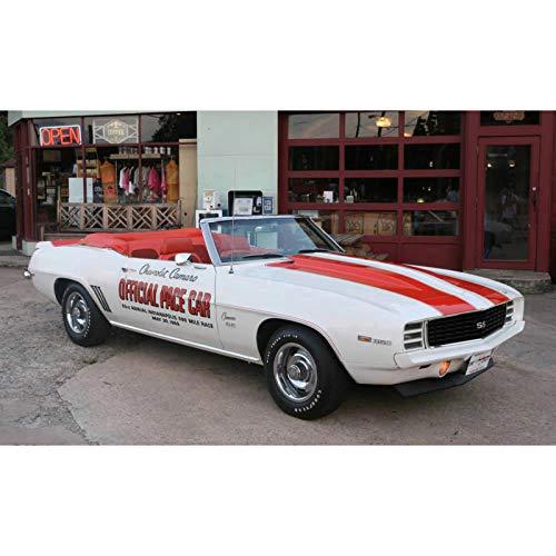 (Eckler's Premier Quality Products 33-180975 Camaro Z28 & Pace Car Paint Striping Stencil Set,)