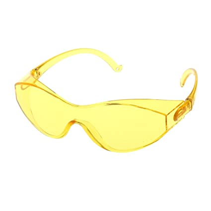 a075f71bd773 Aixia Safety Glasses Goggles Anti-wind sand Fog shock Dust Resistant eyewear  (Yellow) - - Amazon.com