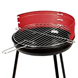 ROBAG Stainless Steel Mini Barbecue Outdoor Tailgating Folding Portable Standing Charcoal BBQ Grill