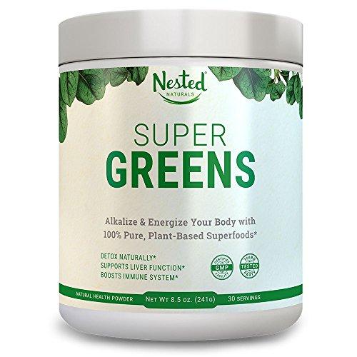 Super Greens | Best Green Veggie Superfood Powder | 30...