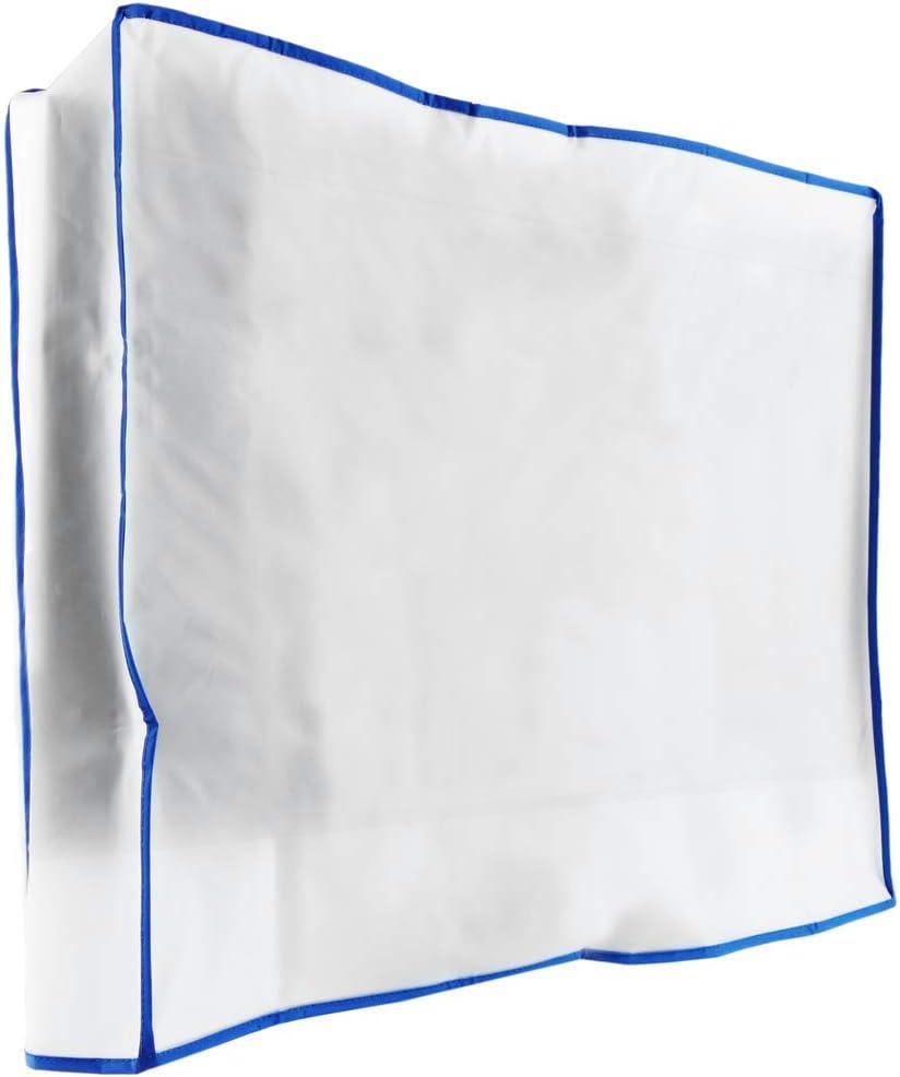 PrimeMatik Funda Cubierta Protectora para Pantalla Plana Monitor TV LCD de 26 66x12x60 cm
