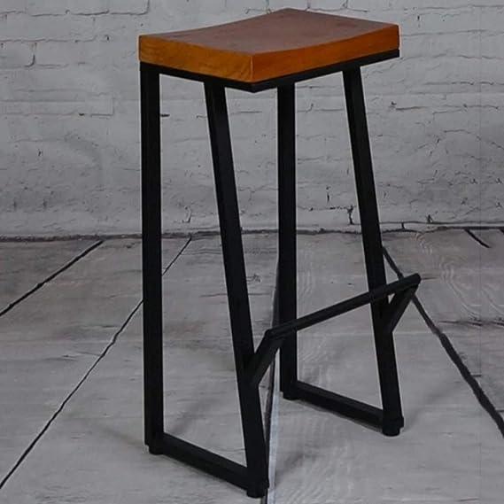 Amazon.com: ZHAO XIN Taburetes de asiento cuadrados, de ...