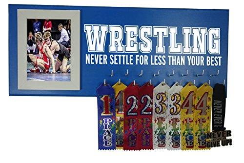 RUNNING ON THE WALL- Wrestling Gifts for Athletes-Medal Display Rack-Medal Holder for Wrestlers-