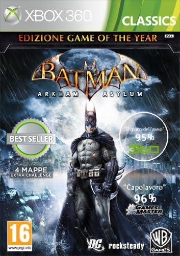 Warner Bros Batman: Arkham Asylum - GOTY Edition, Xbox 360 - Juego ...