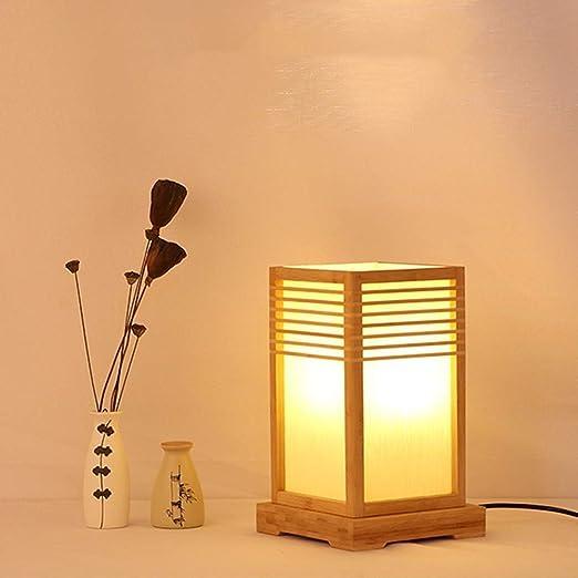 lampara de mesa estilo japones