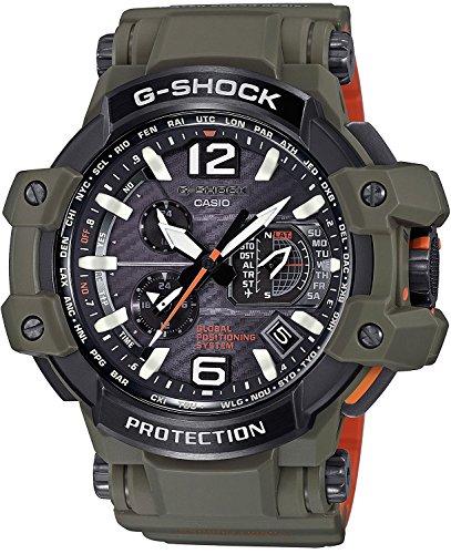 CASIO watch G-SHOCK Master in OLIVE DRAB gravity master GPS hybrid Solar radio GPW-1000KH-3AJF Men's