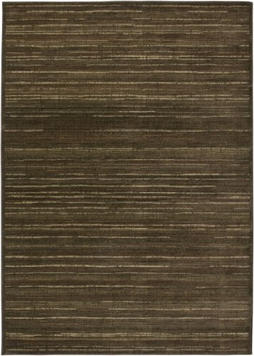 6'7'' x 9'6'' Rectangular Rizzy Home Area Rug GA3121 Brown Color Power Loomed in India ''Galleria Collection'' by Rizzy