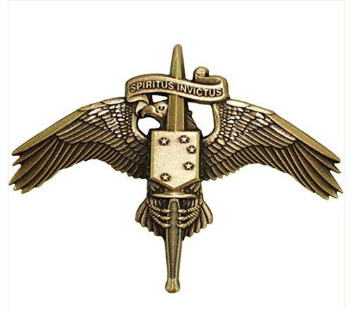 - Vanguard MARINE CORPS MINIATURE BADGE: MARSOC BRONZE FORCES SPECIAL OPS COMMAND