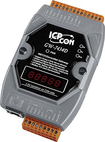 ICP-DAS-GW-7434D-DeviceNet-Master-to-Modbus-TCP-Gateway