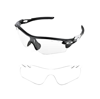 b6ad284438 NEW VENTED REPLACEMENT CLEAR PATH LENS FOR OAKLEY RADARLOCK SUNGLASSES   Amazon.co.uk  Clothing