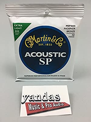 Martin SP Acoustic Guitar Strings from Martin