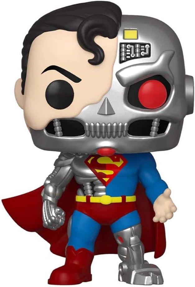 Pop! Heroes Superman 346 Cyborg Superman 2020 Summer Convention