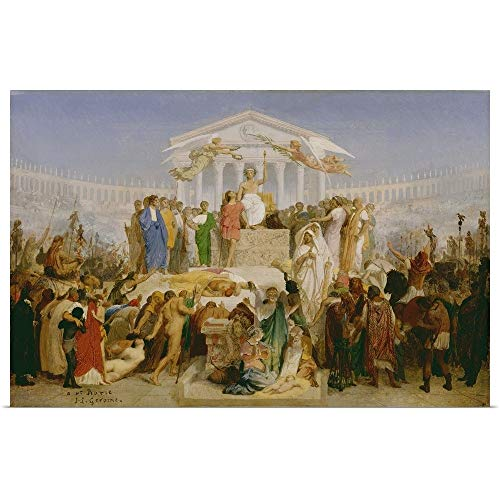 GREATBIGCANVAS Poster Print Entitled Age of Augustus, The Birth of Christ, by Jean-Leon Gerome by Jean Leon Gerome 18