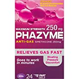 Phazyme Maximum Strength 250 mg Softgels, 24 ea (Pack of 10)