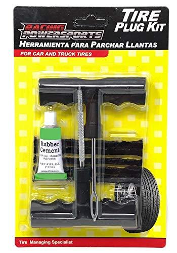 (TAITEC Puncture Repair Kit PRO-1034A Car & Truck Tires Tubeless Tire Repair Plug)