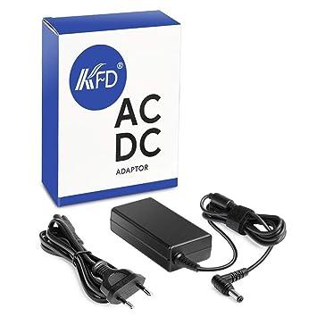 KFD 65W Adaptador Cargador portátil para Toshiba Satellite A200 A205 A215 c655 l505 L650 L655 L750 L755 1000 1005 1200 3005 C850 C850D PA3467U-1ACA ...