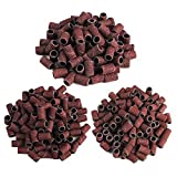 nail manicure drill - FlyItem 300pcs 80# 120# 180# Options Nail Dedicated Sanding Ring Bands Grinding Head Polisher Essential Supplies Sand Circle For Nail Drill File Machine Manicure Tool