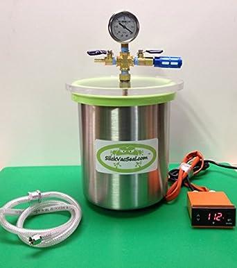 Mini- Cámara de horno al vacío de 1,5 galones: Amazon.es: Amazon.es