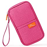 Mossio [Upgraded] RFID Travel Wallet Passport Holder Journey Case Document Organizer Ticket Holder