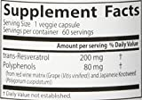 Doctor039s Best Trans-Resveratrol with ResVinol Non-GMO Vegan Gluten Free Soy Free 200 mg 60 Veggie Caps Discount