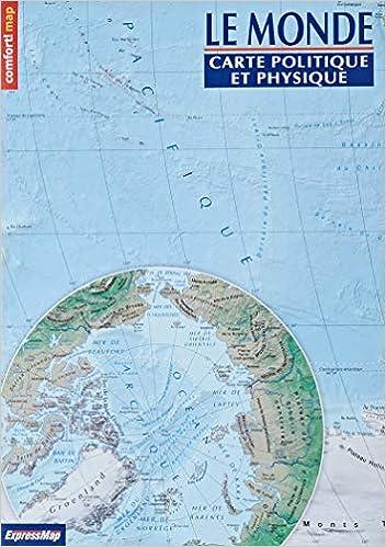 Carte Du Monde Politique Et Physique Carte Xxl Comfort Map Maison Voyage French Edition 9788380465572 Amazon Com Books