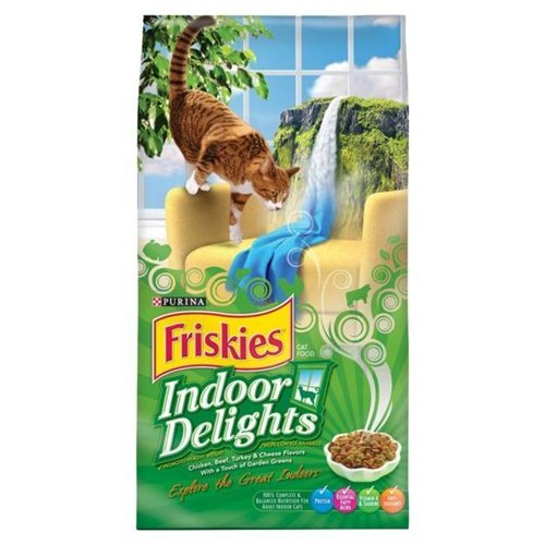 Friskies Cat Food Indoor Delights 3.15 LB (Pack of 12) by Friskies