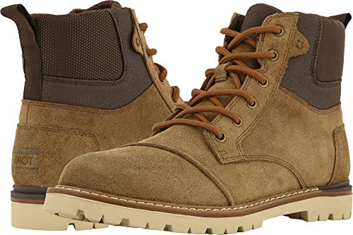 Oiled Boots Suede - TOMS Ashland Boot - Men's (10.5 M US, Twig Oiled Suede)