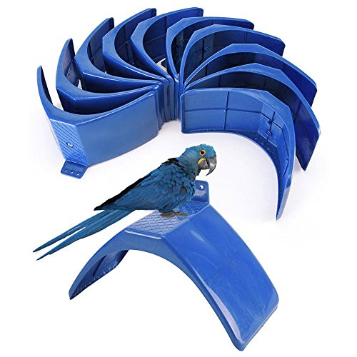 YOTHG 10pcs Dove Rest Stand Frame Grill Dwelling Pigeon Perches Roost Bird Supplies Pet Supplies(10PCS)
