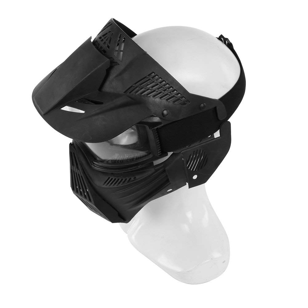 Paintball Goggles Mask for CS Airsoft War Game Army Masks with Lens Tactical Breathable Full Face Safety Riding Mask