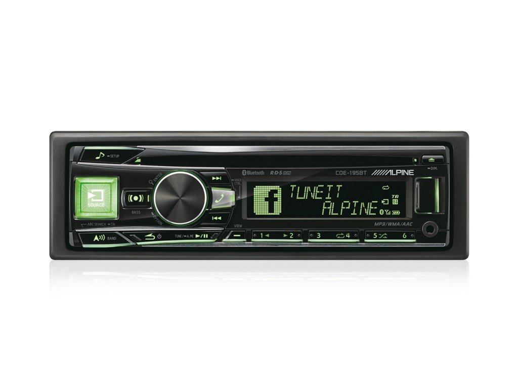 Alpine cde-195bt Auto Stereo: Amazon.de: Elektronik