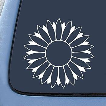 Amazon Com Sunflower Decal Vinyl Sticker Cars Trucks Vans