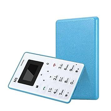 AIEK m5 negro Mini Cena delgado teléfono celular de la tarjeta