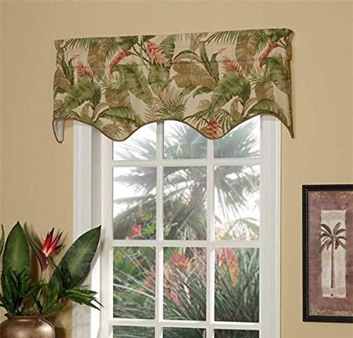 (Thomasville La Selva Natural Empress Swag Insert Valance by)