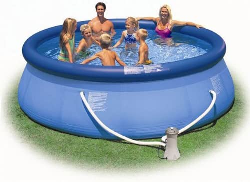 Intex – 56934 FR – Piscina – Kit Piscina Easy Sett 3, 66 x 0, 91 m – autostable – Depurador de Cartucho 2 M3/H: Amazon.es: Jardín