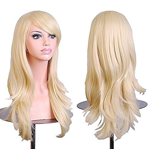 Blonde Cosplay Halloween Costume Resistant