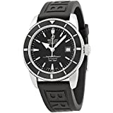 Breitling Superocean Heritage 42 Black Dial Black Rubber Mens Watch A1732124-BA61BKPT3