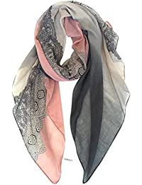 Cozy Lightweight Scarves: Fashion Lace Design Shawl Wrap For Women