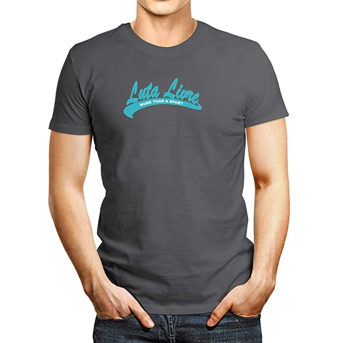Amazon Com Idakoos Luta Livre More Than Sport T Shirt Dark