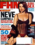 FHM Magazine: Jan 2004 (Neve Campbell on cover)