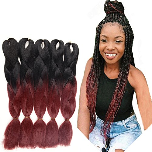 WIGENIUS Synthetic Hair Ombre Kanekalon Braiding Hair for sale  Delivered anywhere in Canada