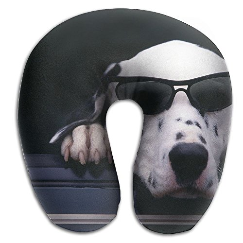 Creative Dogs Sunglasses Animals Humor Funny Design Comfortable U Shaped Neck Pillow Soft Neck Support Pattern Pillow For - Sunglasses Dog Uk