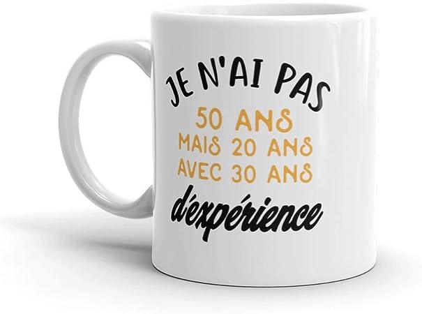 Idée Cadeau Pour Femme 50 Ans Mug humour cadeau homme femme 50 ans pour anniversaire