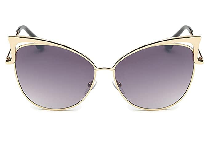 ZhuiKun Ojos de Gato Gafas de Sol Aviador Gafas de Sol Moda ...