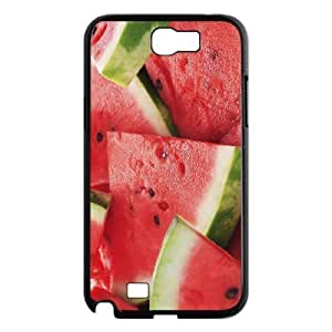 LZHCASE Diy Design Back Case Watermelon for Samsung Galaxy Note 2 N7100 [Pattern-1]