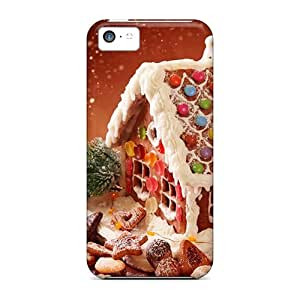 Special Design Back Gingerbread House Cookies Phone Case Cover For Iphone 5c